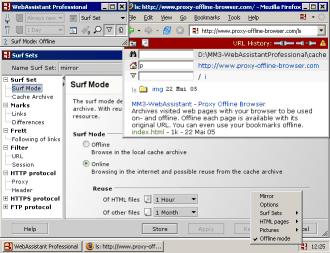 MM3-WebAssistant - Proxy Offline Browser - Professional